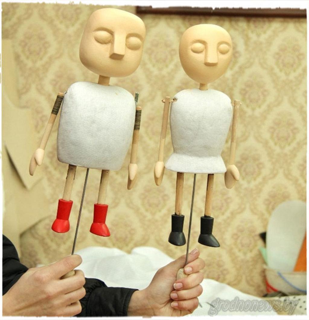 Куклы на тростях Техника театра кукол Книги на 99